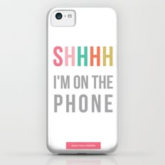 shhh iPhone 5c Slim Case