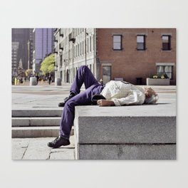 boston strangled?.. Canvas Print