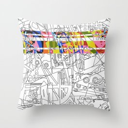Glory Brights Throw Pillow