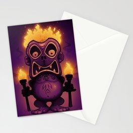 Tiki Munkee Stationery Cards