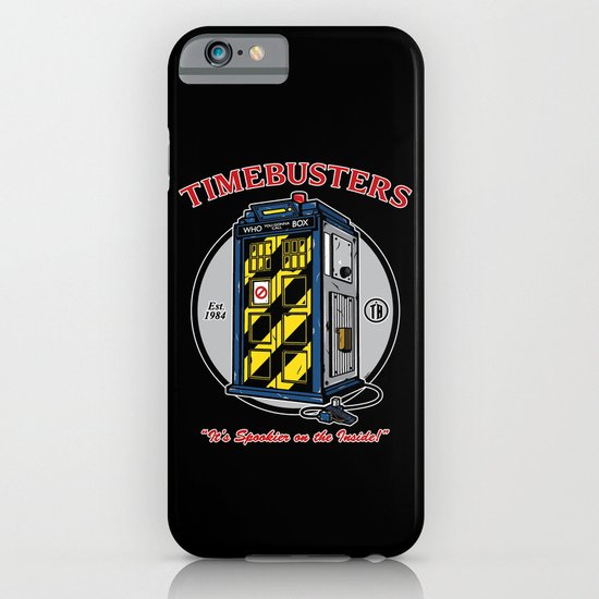 Timebusters iPhone & iPod Case