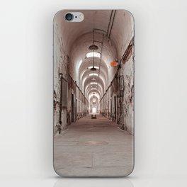Crimson Prison Corridor iPhone Skin