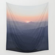 The Great Wall of China III Wall Tapestry