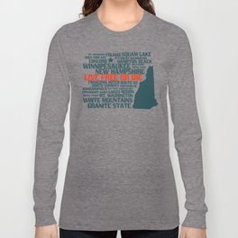 New Hampshire Live Free or Die Long Sleeve T-shirt