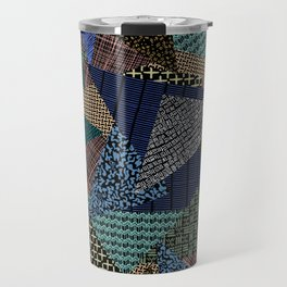 Pantern Mania Collage Travel Mug