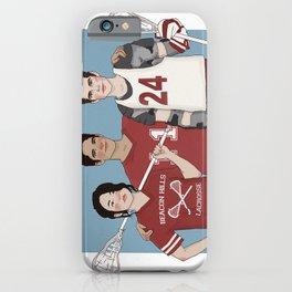 Scott McCall/Stiles Stilinski/Kira Yukimura Lacrosse iPhone Case