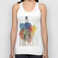 community Tank Tops featuring Community by GretchenAnn