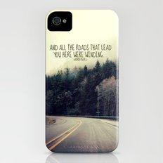 WINDING ROADS ON HWY 101  iPhone (4, 4s) Slim Case