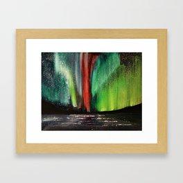 Emerald Skies Framed Art Print