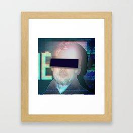 Mr. Celebrity Framed Art Print