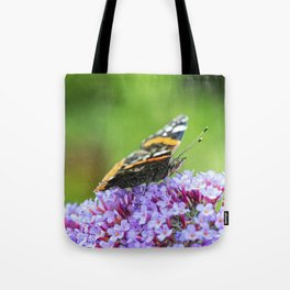Butterfly V Tote Bag