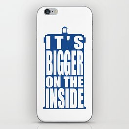 Bigger on the Inside iPhone Skin