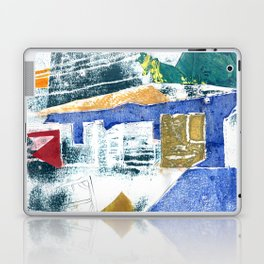 Abstract Building Blue Laptop & iPad Skin