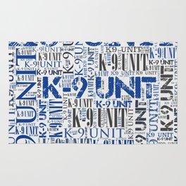 K-9 Unit  -Police Dog Unit Rug