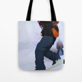Snowboarder Moves Tote Bag