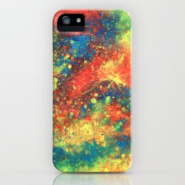 Abstract Paint Phone Case iPhone Case