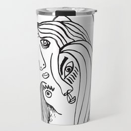 Double-faced Travel Mug