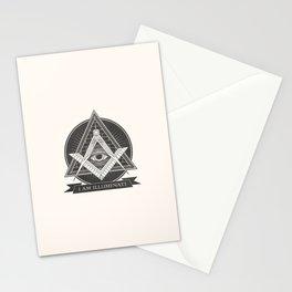 I am illuminati Stationery Cards