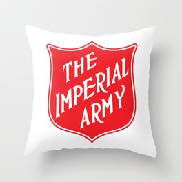 The Imperial Army Throw Pillow