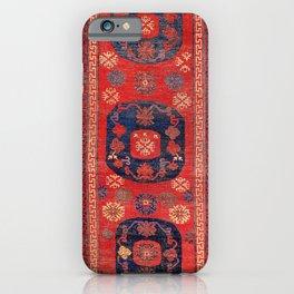 Khotan East Turkestan 18th Century Carpet Print iPhone Case
