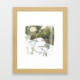 Hollow Sun Framed Art Print