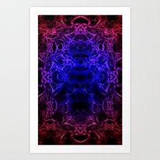 Cozmic art. Art Print