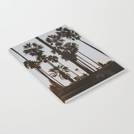 palm trees vi / venice beach, california Notebook