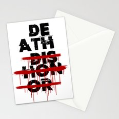 Death Before Dishonor Stationery Cards