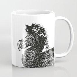 Mr and Mrs Dodo | Dodo Couple | Dodo Bird | Extinct Birds | Black and White | Coffee Mug