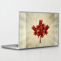 leaf Laptop & iPad Skins featuring Leaf by Armin