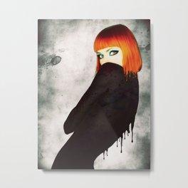 The Girl 5 Metal Print