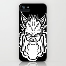 Headstrong viking iPhone Case