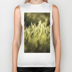 Summer Grass Portrait Biker Tank