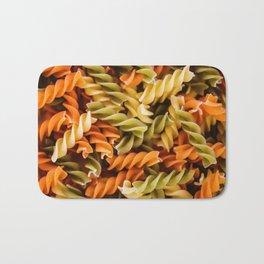 Pasta Noodles Pattern (Color) Bath Mat
