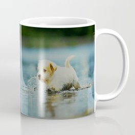 Splish - Splash, puddles are fun Coffee Mug