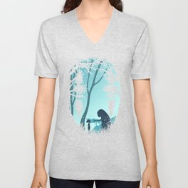 Lonely Spirit Spirited Away Unisex V-Neck
