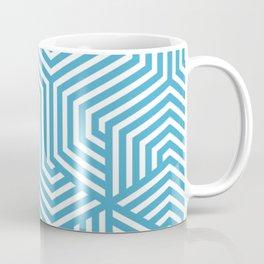 Maximum blue - blue - Minimal Vector Seamless Pattern Coffee Mug