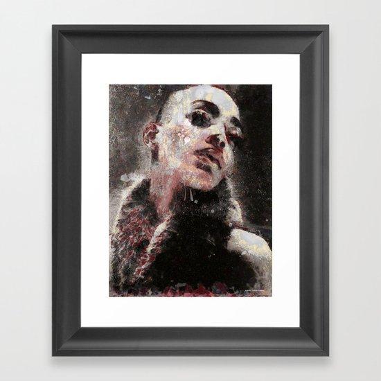 Sadness Framed Art Print
