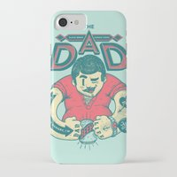 dad iPhone & iPod Cases featuring THE DAD by andbloom
