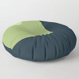 Trendy color palette Floor Pillow
