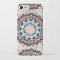 kaleidoscope iPhone & iPod Cases featuring kaleidoscope  by North 10 Creations