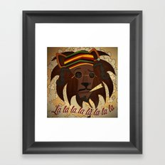 Snoop Lion Framed Art Print
