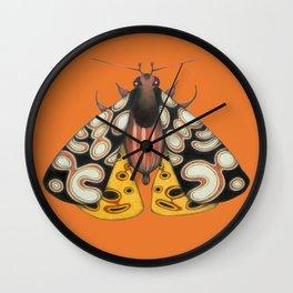 moth (ORIGINAL SOLD). Wall Clock