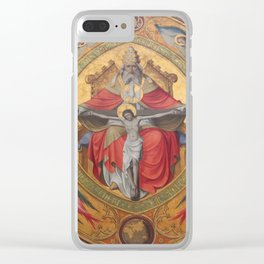 Cologne Cathedral - Altar of the Poor Clares Clear iPhone Case
