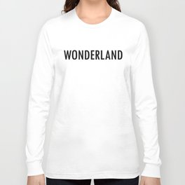 """NYC Wildflower show series - """"who are you"""" Long Sleeve T-shirt"""