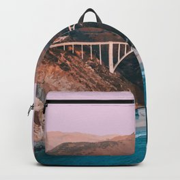 Big Sur, California Travel Artwork Backpack