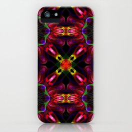 Deep Abstract Pattern iPhone Case
