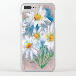Flor VI (Flower VI) Clear iPhone Case