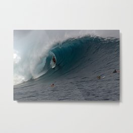 MARK HEALEY  CLOUDBREAK Metal Print