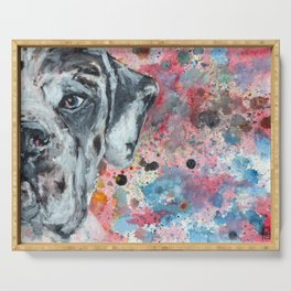 Harle Great Dane Serving Tray